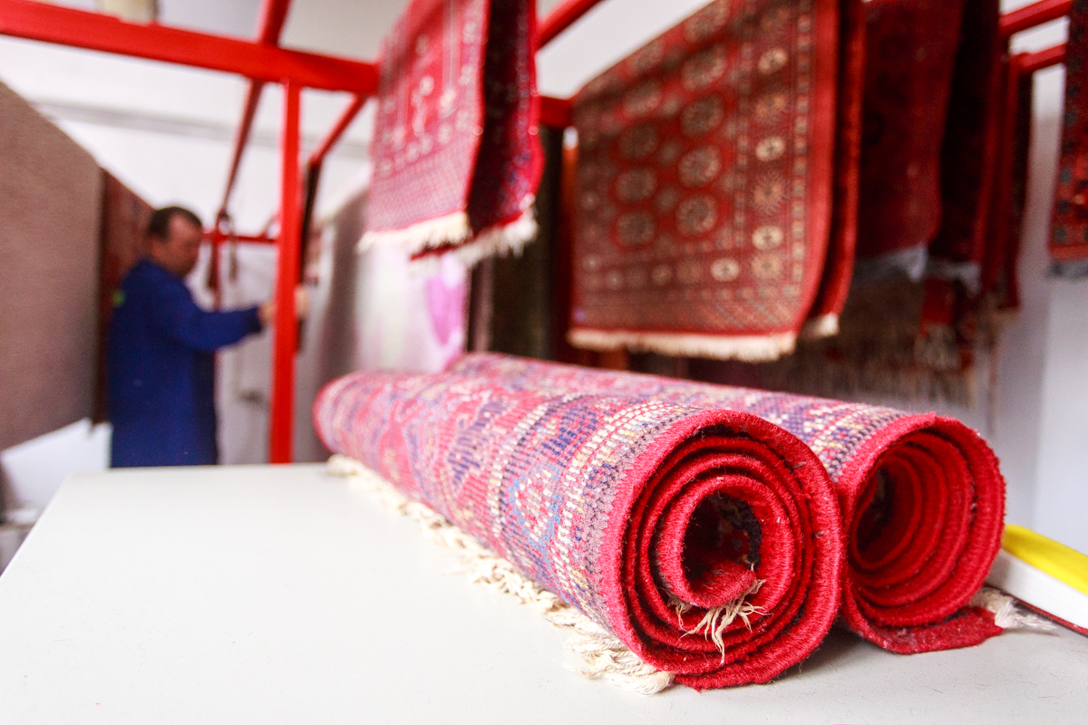 Szép tiszta szőnyegek...