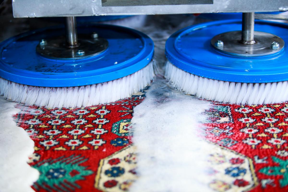 Aktív mosás, hogy a színek újjá születhessenek.