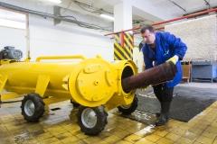Óriási kapacitással bíró centrifuga